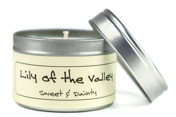 lily of the valley candle sapooni handmade soaps and skincare